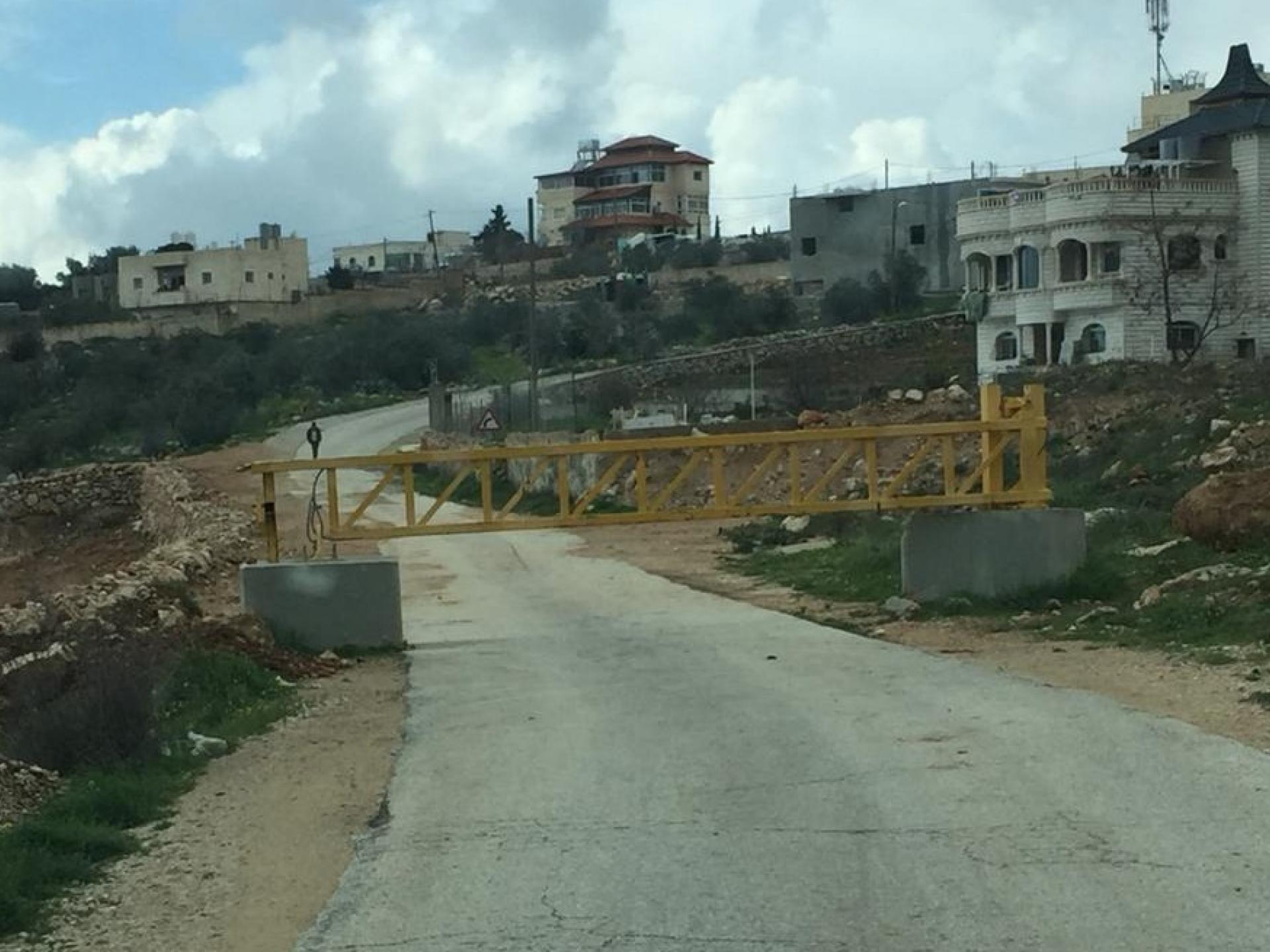 The checkpoint at Abda